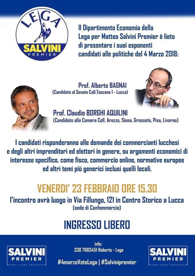 Lucca 23 febbraio